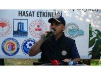 AK Parti'li Turan, Bayramiç Beyazı hasat etkinliğine katıldı