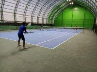 Iğdırlı genç tenisçiler Türkiye Şampiyonası finalleri için ter döküyor