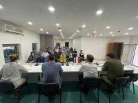 AK Parti il yönetimi kurulu üyelerinden haftalık istişare