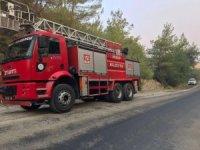 Ürgüp itfaiyesi Osmaniye'deki yangın için yardıma gitti