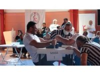 Türkiye Bedensel Engelliler bilek güreşi müsabakaları Çankırı'da