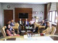 AK Parti Ağrı İl Başkanı Özyolcu'dan Milli Eğitim Müdürü Tekin'e ziyaret