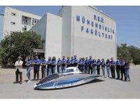 Dokuz Eylül Üniversitesi yeni güneş enerjili aracını tanıttı