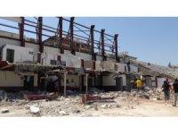 71 yıllık Antakya Atatürk Stadı yıkılıyor