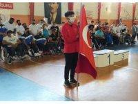 Şanlıurfalı milli sporcu Abdulsamet Türkiye ikincisi oldu