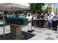 Gazeteci Süleyman Keskin son yolculuğuna uğurlandı