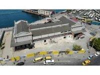 Tarihi Kadıköy Hal Binası'nda tepki çeken restorasyon çalışması