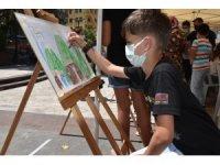 Çocuklar hayallerindeki Görele'yi çizdi