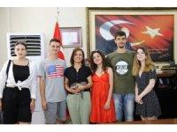 """""""Delete Dijital Bullying"""" gençleri Başkan Köse'yi ziyaret etti"""