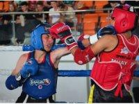 Kocaeli'de nefes kesen Muay Thai mücadelesi