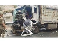 Bitlis-Baykan yolunda trafik kazası: 1 yaralı