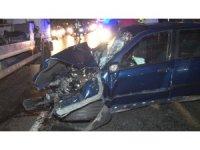 Sarıyer'de yarışan iki otomobil zincirleme kazaya neden oldu: 6 yaralı