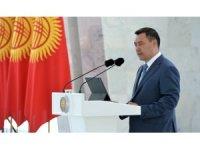 Kırgızistan Cumhurbaşkanı Caparov'dan Cumhurbaşkanı Erdoğan'a taziye mesajı
