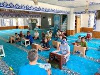 Kur'an-ı Kerim kursu öğrencilerine afet bilinci eğitimi