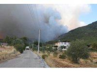 Köyceğiz yanmaya devam ediyor