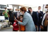 """İYİ Parti Genel Başkanı Akşener: """"Çankırı'da gördüklerimden çok memnun kaldım"""""""