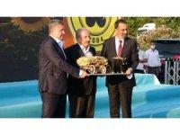 TBMM Başkanı Şentop Çorlu Tarım Fuarı'nın açılışını yaptı