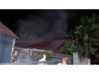 Beykoz'da cam atölyesinde korkutan yangın