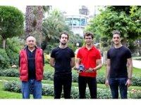 Öğrencilerden yangını erken tespit eden drone projesi