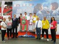 Süleymanpaşalı genç sporcular madalyalara ambargo koydu