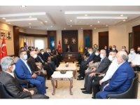 Esnaf odaları Ahilik Haftası'nda Başkan Altay'ı ziyaret etti
