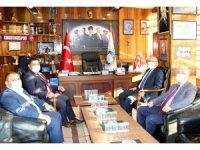Vali Mustafa Tutulmaz GMİS'i ziyaret etti