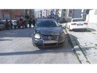 Sungurlu'da iki otomobil çarpıştı: 1 yaralı