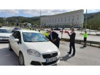 Ahilik Haftası'nda sürücülere leblebi ikramı