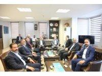 Milletvekili Kiler ve Taşar'dan Ahlat Kaymakamı Fikret Dağ'a ziyaret
