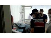 Kendisini dişçi olarak tanıtıp tedavi eden şahsın muayenehanesine operasyon