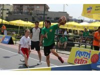 Frutti Extra Cup'tan 3x3 Basketbol Turnuvası başlıyor