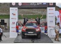 TransAnatolia Rally Raid Rallisi'nde dereceye girenler ödüllerini aldı
