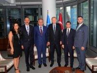 Cumhurbaşkanı Erdoğan, MHP Genel Başkan yardımcılarını kabul etti