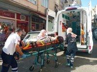 Motosiklet ile otomobilin karıştığı kazada 1 kişi yaralandı