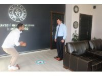 Hemsball İl Temsilciliği'nden Kabakcı'ya ziyaret