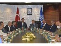 Ankara Sanayi Odası Yönetim Kurulu, ANGİAD'ı ziyaret etti