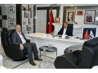 Turanlı'dan, Başkan Kılınç'a ziyaret