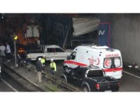 Trabzon'da 7 araçlı zincirleme trafik kazası: 3 yaralı