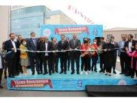 Eyüpsultan'da Yarı Olimpik Yüzme Havuzu açıldı