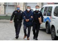 Camiden hırsızlık yaptığı iddia edilen şahıs yakalandı