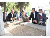 Kuva-yı Milliye kahramanı Osman Çaneri kabri başında anıldı