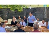 Milletvekili Tutdere Tut ilçesinde vatandaşları dinledi