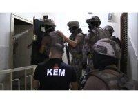 Mersin merkezli iki ilde torbacı operasyonu: 8 gözaltı