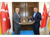 AK Partili Kaçar'a prestij projeler anlatıldı