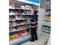 Zabıta ekipleri 4 dükkana cezai işlem uyguladı