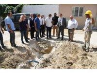 Genel Müdür Aslay, Saruhanlı'daki çalışmaları inceledi