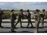 """Türk askeri """"Sarsılmaz Kardeşlik 2021 Tatbikatı"""" için Nahçıvan'da"""