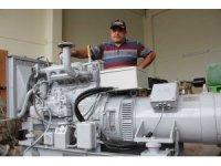 Sinop'ta torna ustası hurda motorları gemi ve kayıklara geri kazandırıyor