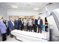 Cüneyt Yıldız Devlet Hastanesine son teknoloji tomografi cihazı