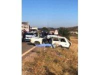 Tır ile otomobil çarpıştı: 1 ölü 4 yaralı